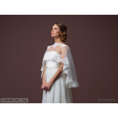 Soft Tulle Cape C100-090