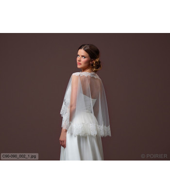 Soft Tulle Cape C90-090