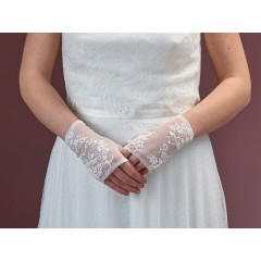 Fingerless Lace Glove 7020