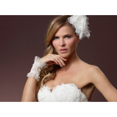 Bridal Gloves Manchet 7615