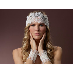 Bridal Gloves Manchet 7620