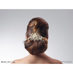 Swarovski Hair Jewelry With Pearls BB-647