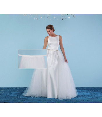 Bridal Overskirt S303-150