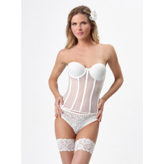 Poirier Tulle Torselette With Lace Cups 429