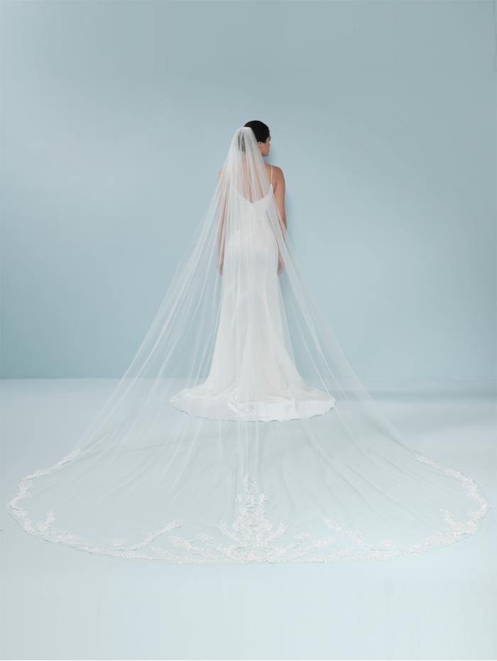 Veil 'Belle Bernadette' S712-400/1/SOFT