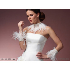 Wrist Accessory / Ankle Strap Feathers NC-1055